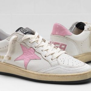 GOLDEN GOOSE Pink Ball Star NWB
